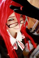 :: Red Butler Of DEATH XD :: by Amori-chan