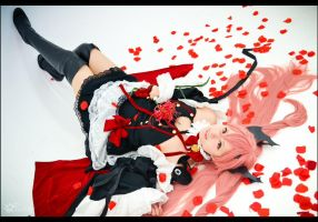 Krul Tepes - Bed of rose petals by SharyNyanko