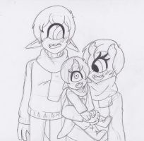 Cyclops family by Lil-miss-galaxy
