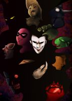 Gotham Villains by s-azma