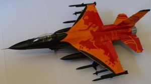 F16 model Demo Team by FROSTBYTE-BWM