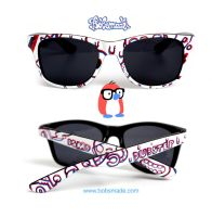 3D Dubstep Sunglasses by Bobsmade
