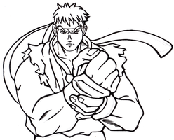 Street Fighter Alpha:E Ryu wip by Hades-O-Bannon