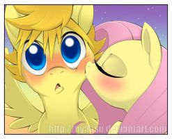 Unexpected (Ventus/Fluttershy) by Nyaasu