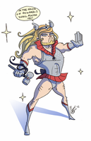 Magical School Girl Thor by Cat-Bat