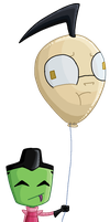 Dib balloon by Elmo-John