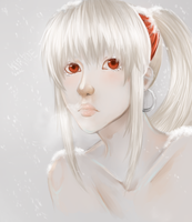 White as snow, cold as ice... by TridentFreak