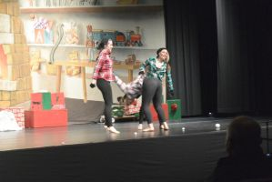 The Dance Company Christmas Show, Snowball Fight 4 by Miss-Tbones