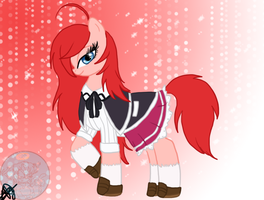Rias Gremory :My Little Pony Ver: by xxAlyMetalGirlxx