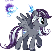 Icy Custom Pony by YukiAdoptablesPonies