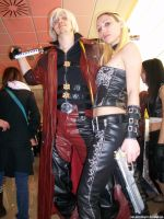 Dante and Trish - DMC4 by MuzzaThePerv