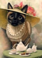 Tea time by zIoana