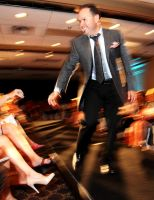 Celebrity Men in a Kidney Foundation Fashion Show by right-angle