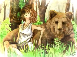 The Two Grizzlies by PandoraRequiem