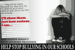 Anti-Bullying Poster by joncodesigns
