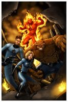 fantastic four in color by beamer