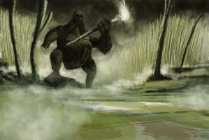 Swamp troll by mike2190