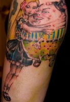 alice tattoo t.brown by thirteen7s