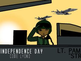 Independence Day: Code Lyoko- Pamela Wave by PeaceKeeperd
