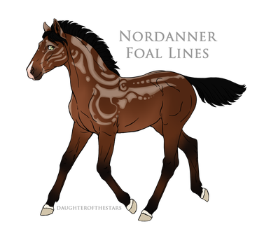8333 Asteria Foal Design by Remuda-Livery