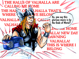 Halls of Valhalla by the-ChooK