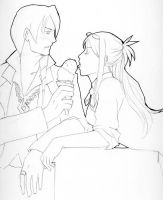 PW4 - Hot Ice Cream Fun by Udon-chan