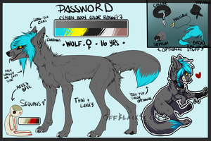 Password Reference Sheet 2014 by Virusaurus