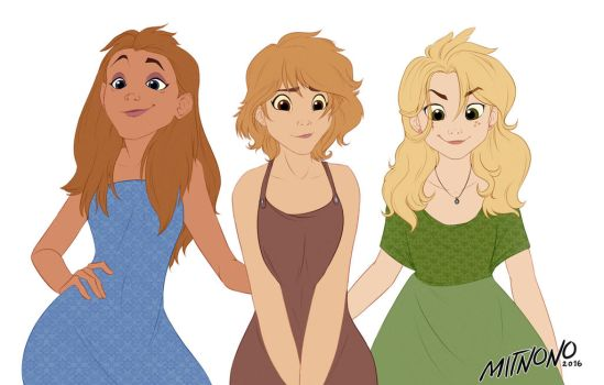 [TLG] The queen and her friends. by Mitnono