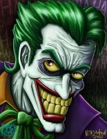 The Joker by ninjatron