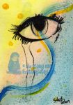 ACEO- 026 Tears by lizstaley