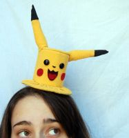 Tiny Top Hat: Pikachu by TinyTopHats