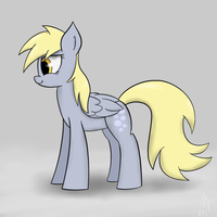 Idle Derpy - ATG2 Day 1 by Muffinsforever