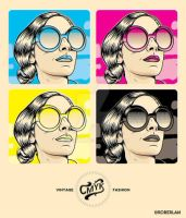VINTAGE CMYK FASHION by roberlan