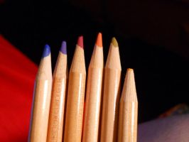 Water Color Pencils by Readmeabook21