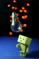 Danbo got an Idea by ahmedwkhan