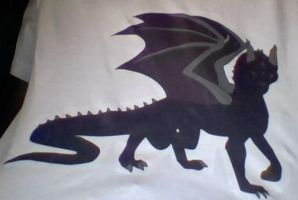 enderdragon t-shirt by Geoshark12