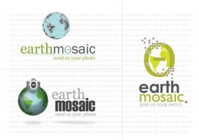Earth Mosaic logo by hippiedesigner