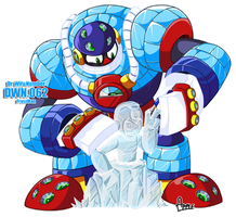 DWN62 Frostman by ApplesRockXP