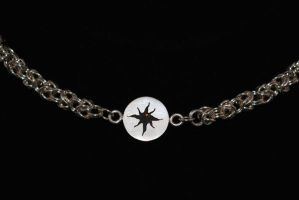 Amber Star Necklace by Adornments