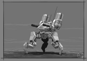 Mech Speedpaint #4 by TurboSolovey