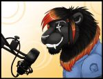 There's a lion at the microphone by Mutabi
