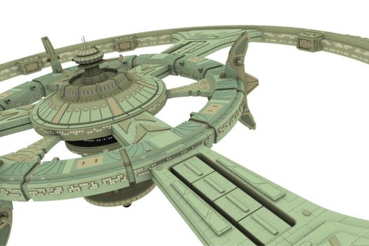 Deep Space 9 W.I.P. 6 by gpdesigner
