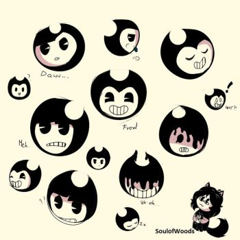 Bendy heads by SoulofWoods