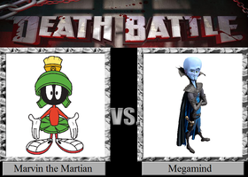 Marvin the Martian vs. Megamind by JasonPictures