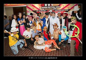One Piece Group AFAMY 2012 by riezforester