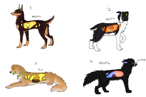 Lightdog Adopts -CLOSED- by jay-fruit