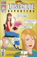Lois and Chloe. Reporters No 2 by M-EX