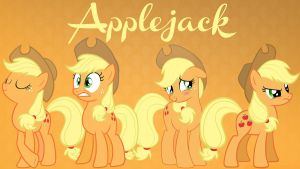 Applejack Background (1920 X 1080) by PyroPig75