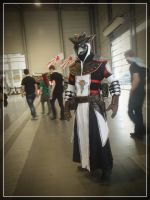 Pyrkon 2014 - Plague Doctor by WormWoodTheStar