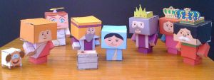 Cubee - Nativity Scene by 7ater